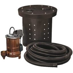 Crawl Space Primary Sump Pumps