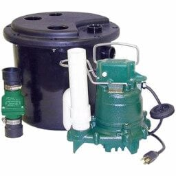 Laundry/Sink Primary Sump Pumps