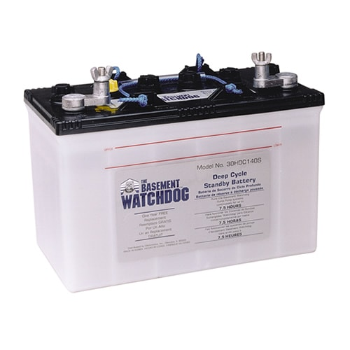 Deep Cycle Sump Pump Battery
