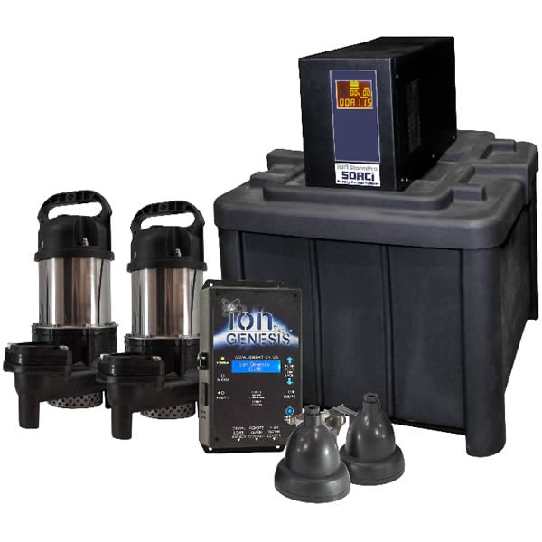 iON 50ACi Deluxe Battery Backup Sump Pump System  (3660 GPH @ 10')