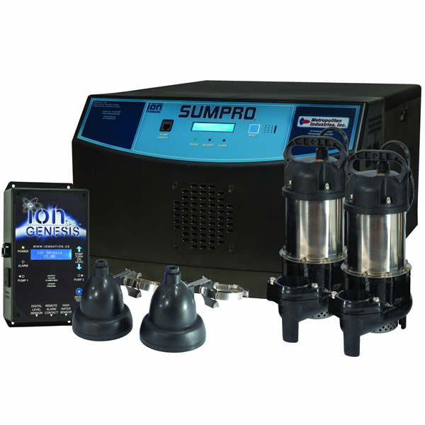 SUMPRO Platinum Combination Battery Backup System iSP20239