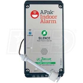 Zoeller 10-4013 APak® Z Control® Wireless Enabled Water Alarm w/ Reed Sensor
