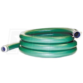 "JGB  2"" x 20' PVC Suction Hose"