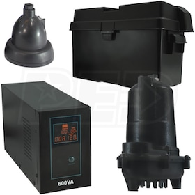 iON 30ACi+ Battery Backup Sump Pump System (2640 GPH @ 10')