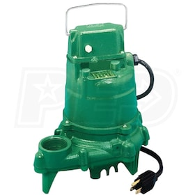 Zoeller N57 - 1/3 HP All Cast Iron Submersible Sump Pump (Non-Automatic)