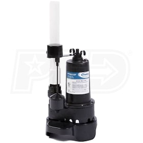 ProFlo PFTG92352P - 1/3 HP Cast Iron Submersible Sump Package (PVC) w/ Vertical Float Switch