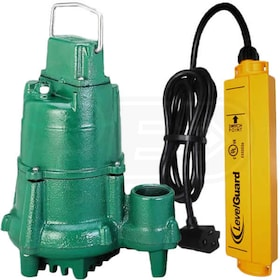 Zoeller N98 - 1/2 HP Cast Iron Submersible Sump Pump w/ LevelGuard™ Switch