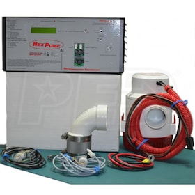 NexPump AiSingle-ANi - Battery Backup Sump Pump System w/ Internet Notification (2160 GPH @ 10')