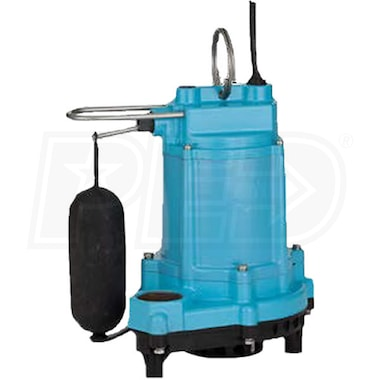 Little Giant 6EC-CIA-SFS - 1/3 HP Submersible Sump Pump w/ Vertical Float Switch