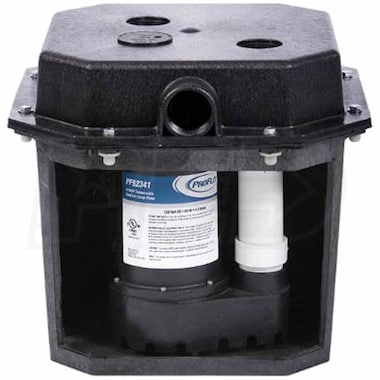 "ProFlo PF92017 - 3/10 HP Compact Remote Sink/Drain Pump System (1-1/2"")"