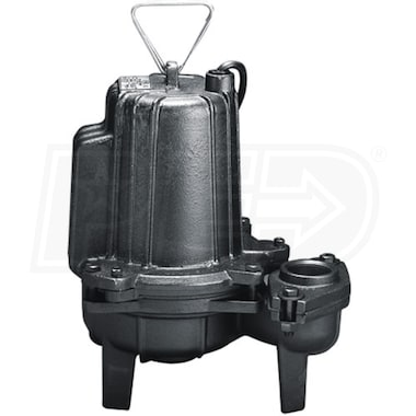 "Wayne SEP5 - 3/4 HP Commercial Grade Cast Iron Sewage Pump (2""/3"") (Non-Automatic)"