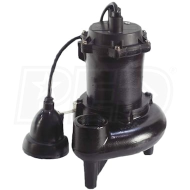 "StormPro SHW50A-11 - 1/2 HP High-Output Sewage Pump (2"") w/ ION Digital Level Control"