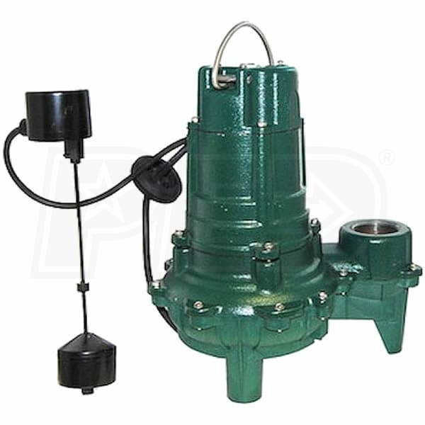 Zoeller wm266 1 2 hp replacement sewage pump for qwik for Well pump motor replacement